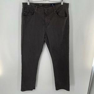 AG Adriano Goldschmied Everett Slim Jeans Gray 34